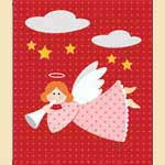 Angel with Trumpet - Free sewing patterns online