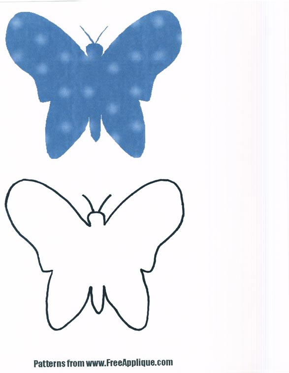 Michele bilyeu creates with heart and hands butterfly for Butterfly template free