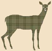 Deer cabin Quilt Fabric Art Applique pattern Block | eBay