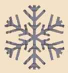 Snowflake Pattern for Clipart