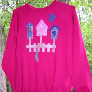 Birdhouse Applique