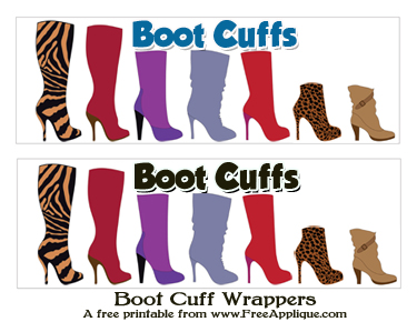 Boot Cuff Wrappers