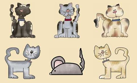 Country Cats Pattern