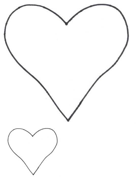 heart shapes heart patterns for applique freeapplique com