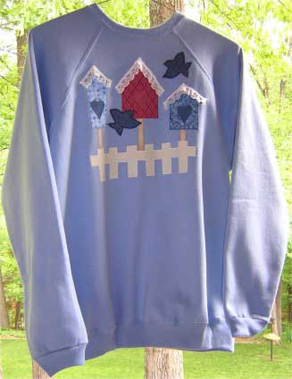 Sweatshirt Applique Pattern