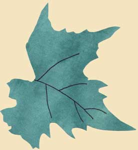 Printable Leaf Patterns for Applique, Quilting, Crafts or Clipart