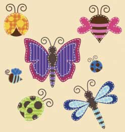 Butterflies, Bees and Dragonflies