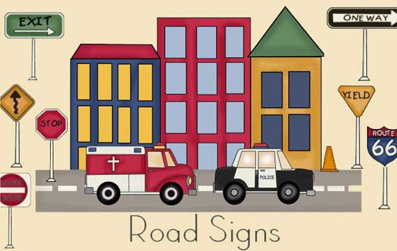 Road Signs Pattern