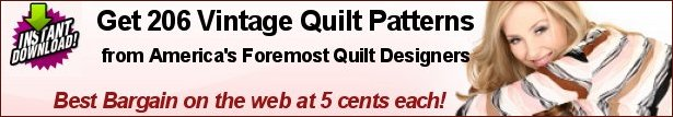 Vintage Quilt Patterns the