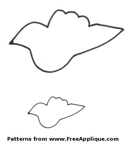 24 Bird Patterns - Free Patterns for Quilting & Applique