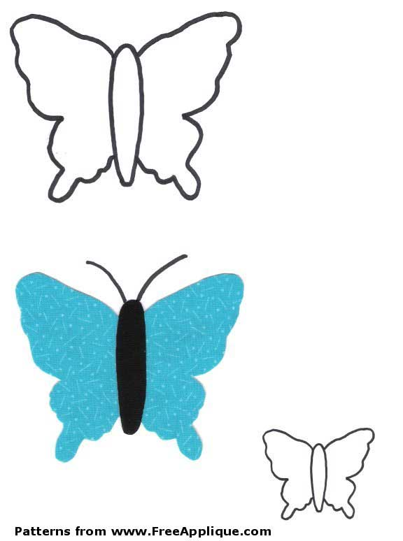 Butterfly and Moth Printable Coloring Book Art and Crafts