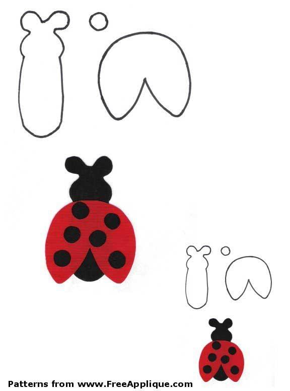 Bug Patterns - Free Applique Patterns