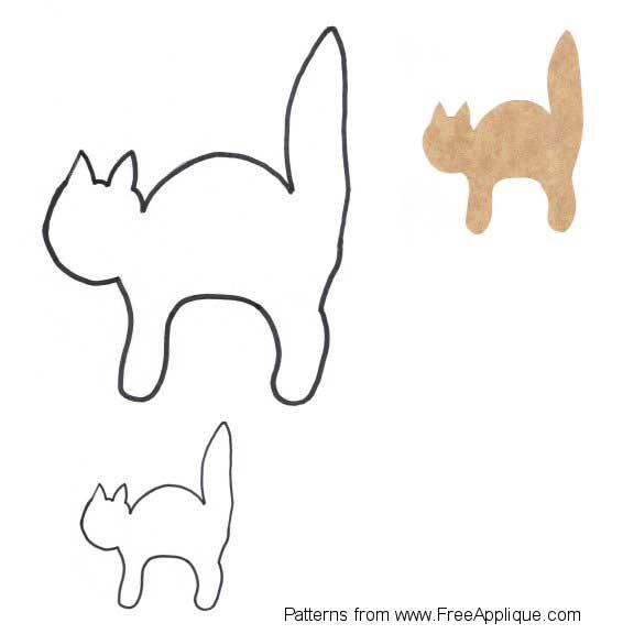 Free Cat Applique Quilt Patterns Quilt Pattern