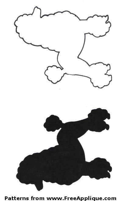 poodle skirt applique template a poodle skirt