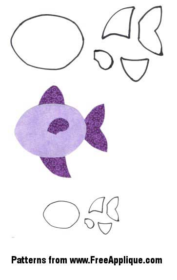 Fish Patterns - Free Applique Patterns