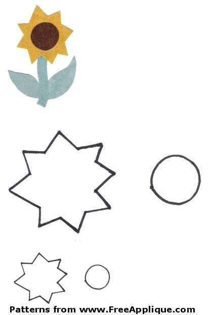 image regarding Free Printable Flower Applique Patterns referred to as 23 Flower Behaviors -