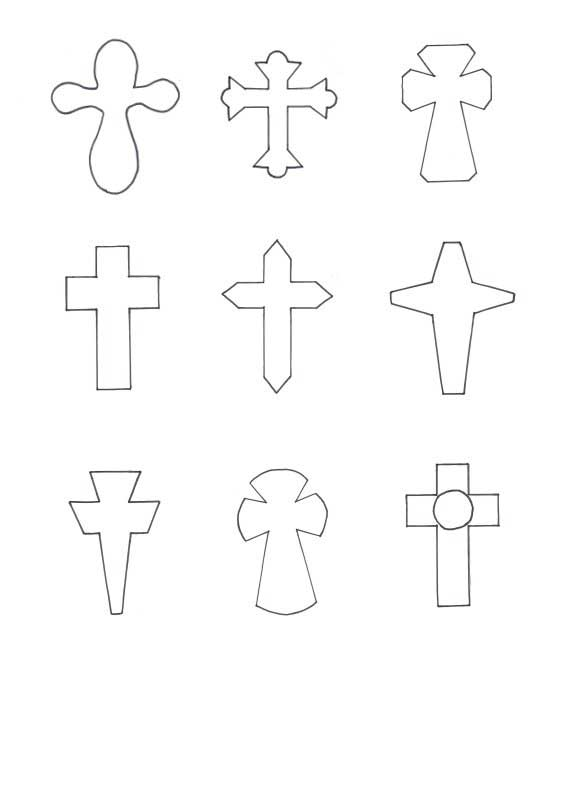 Magic image pertaining to printable cross pattern