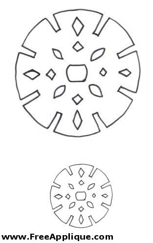 FREE Printable Snowflake Pattern, Picture and Template Collection