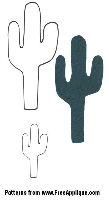 Southwest Patterns For Applique Cactus Guitar Boots