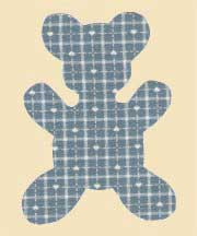Ulla's Quilt World: Teddy bear quilt and pattern, Trapunto