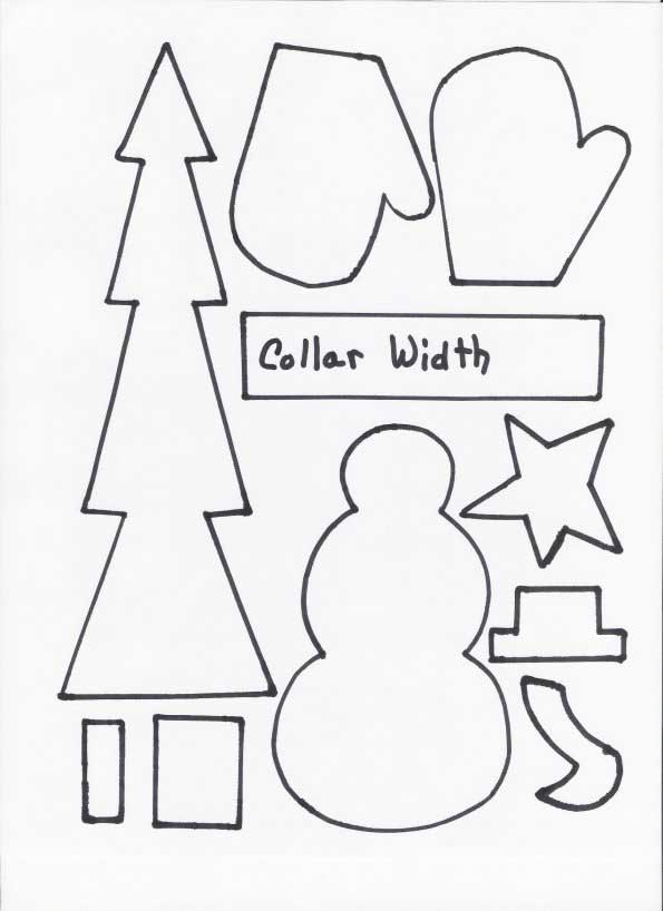 Snowman Craft Pattern - Original Kids' Crafts