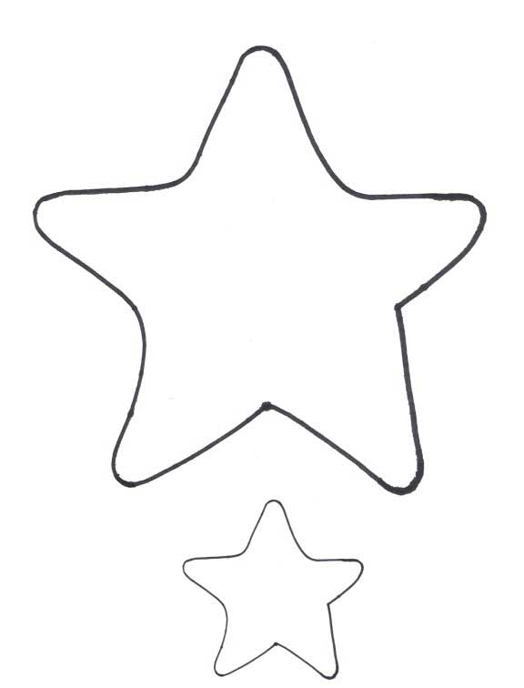 Star Shapes and Patterns Applique Quilts Clip Art – Star Template