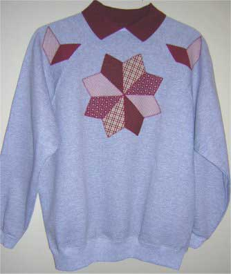 Windmill Sweatshirt Applique Pattern