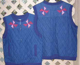 Free sewing projects - Windmill Vest Pattern