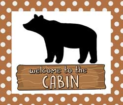 Cabin Applique