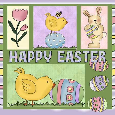 Easter Applique Pattern