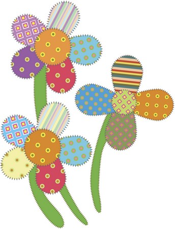 """Flower"" Free Appliqué Pattern from Free Appliqué Patterns"