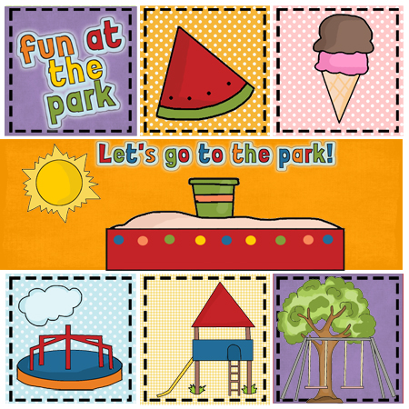 """Fun at the Park"" Free Appliqué Pattern from Free Appliqué Patterns"