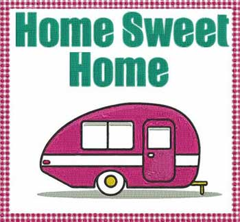 Home Sweet Home Applique Pattern