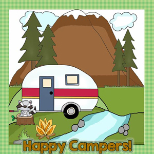 Happy Camper Signs