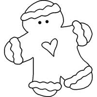 Gingerbread Man Pattern