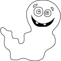 Halloween Silly Ghost