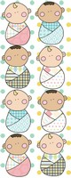 Swaddled Baby Pattern